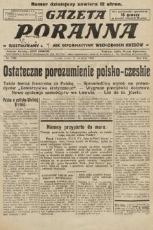Gazeta Poranna : ilustrowany dziennik informacyjny wschodnich kresów. 1925, nr7380