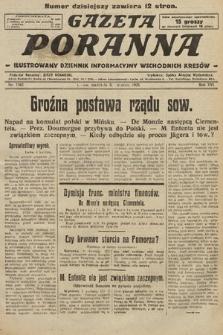 Gazeta Poranna : ilustrowany dziennik informacyjny wschodnich kresów. 1925, nr7382