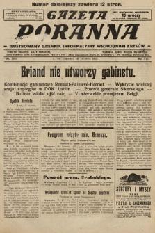 Gazeta Poranna : ilustrowany dziennik informacyjny wschodnich kresów. 1925, nr7391