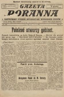 Gazeta Poranna : ilustrowany dziennik informacyjny wschodnich kresów. 1925, nr7392