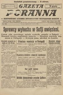 Gazeta Poranna : ilustrowany dziennik informacyjny wschodnich kresów. 1925, nr7396