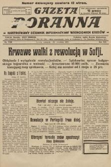 Gazeta Poranna : ilustrowany dziennik informacyjny wschodnich kresów. 1925, nr7398