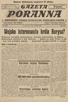 Gazeta Poranna : ilustrowany dziennik informacyjny wschodnich kresów. 1925, nr7399