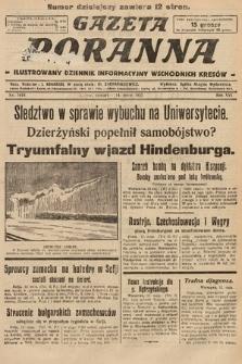 Gazeta Poranna : ilustrowany dziennik informacyjny wschodnich kresów. 1925, nr7418