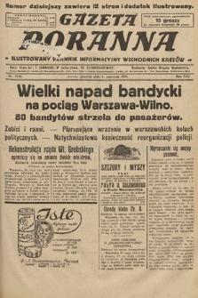 Gazeta Poranna : ilustrowany dziennik informacyjny wschodnich kresów. 1925, nr7436