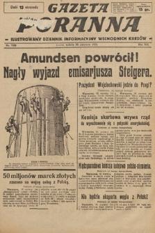 Gazeta Poranna : ilustrowany dziennik informacyjny wschodnich kresów. 1925, nr7454
