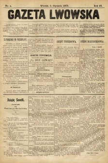 Gazeta Lwowska. 1903, nr4