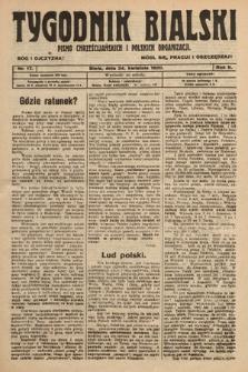 Tygodnik Bialski : pismo chrześcijańskich i polskich organizacyi. 1920, nr17