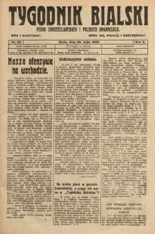 Tygodnik Bialski : pismo chrześcijańskich i polskich organizacyi. 1920, nr22