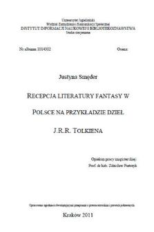 Recepcja literatury fantasy w Polsce na przykładzie dzieł J.R.R. Tolkiena