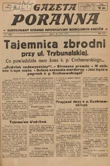 Gazeta Poranna : ilustrowany dziennik informacyjny wschodnich kresów. 1925, nr7495