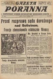 Gazeta Poranna : ilustrowany dziennik informacyjny wschodnich kresów. 1925, nr7499