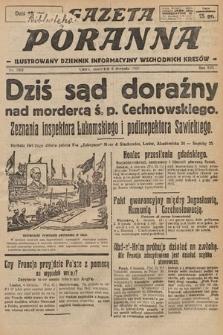 Gazeta Poranna : ilustrowany dziennik informacyjny wschodnich kresów. 1925, nr7501