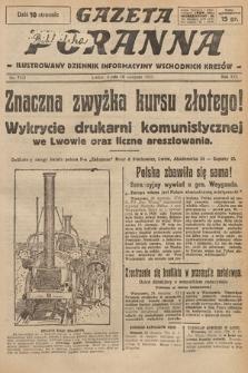 Gazeta Poranna : ilustrowany dziennik informacyjny wschodnich kresów. 1925, nr7521