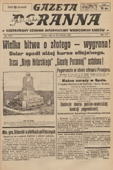 Gazeta Poranna : ilustrowany dziennik informacyjny wschodnich kresów. 1925, nr7524