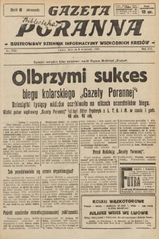 Gazeta Poranna : ilustrowany dziennik informacyjny wschodnich kresów. 1925, nr7534