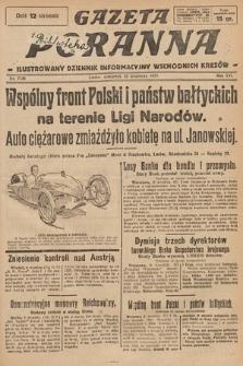 Gazeta Poranna : ilustrowany dziennik informacyjny wschodnich kresów. 1925, nr7536