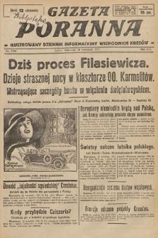 Gazeta Poranna : ilustrowany dziennik informacyjny wschodnich kresów. 1925, nr7550
