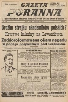 Gazeta Poranna : ilustrowany dziennik informacyjny wschodnich kresów. 1925, nr7563