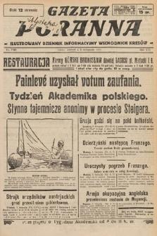 Gazeta Poranna : ilustrowany dziennik informacyjny wschodnich kresów. 1925, nr7592