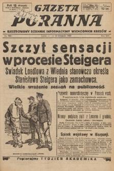 Gazeta Poranna : ilustrowany dziennik informacyjny wschodnich kresów. 1925, nr7600