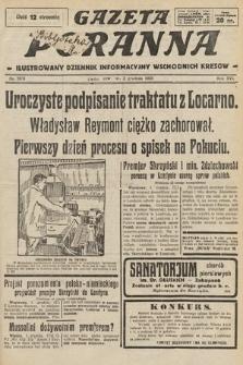 Gazeta Poranna : ilustrowany dziennik informacyjny wschodnich kresów. 1925, nr7620