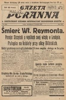 Gazeta Poranna : ilustrowany dziennik informacyjny wschodnich kresów. 1925, nr7624