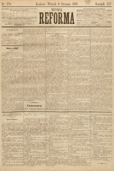Nowa Reforma. 1895, nr178