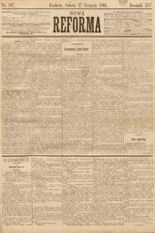 Nowa Reforma. 1895, nr187