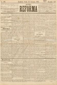Nowa Reforma. 1895, nr196
