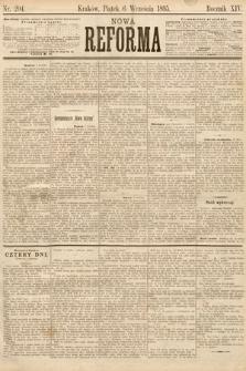Nowa Reforma. 1895, nr204