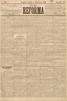 Nowa Reforma. 1895, nr205