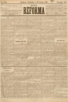 Nowa Reforma. 1895, nr206