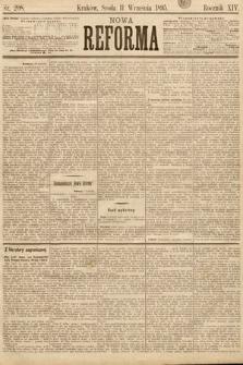 Nowa Reforma. 1895, nr208