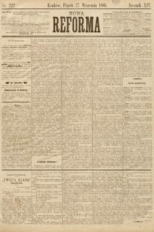Nowa Reforma. 1895, nr222