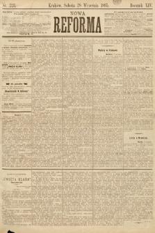 Nowa Reforma. 1895, nr223