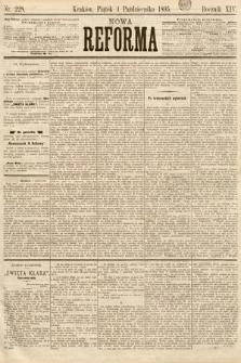 Nowa Reforma. 1895, nr228