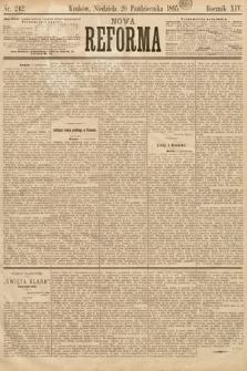 Nowa Reforma. 1895, nr242