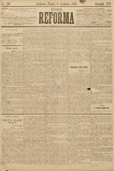Nowa Reforma. 1895, nr281