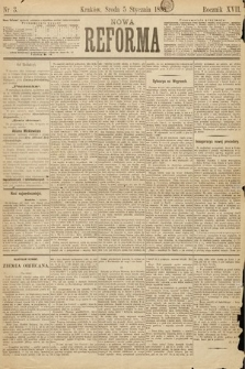 Nowa Reforma. 1898, nr3
