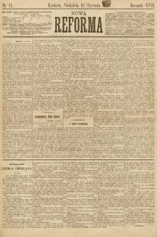 Nowa Reforma. 1898, nr12