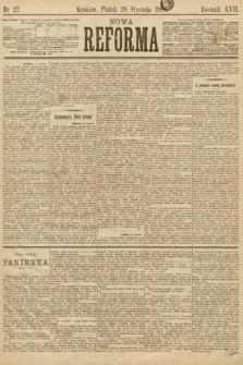 Nowa Reforma. 1898, nr22