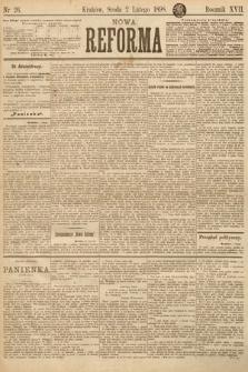 Nowa Reforma. 1898, nr26