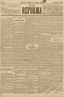 Nowa Reforma. 1898, nr33