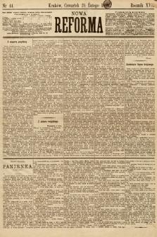 Nowa Reforma. 1898, nr44