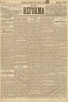Nowa Reforma. 1898, nr45