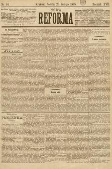 Nowa Reforma. 1898, nr46