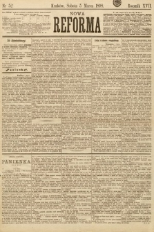 Nowa Reforma. 1898, nr52