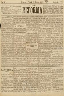 Nowa Reforma. 1898, nr57