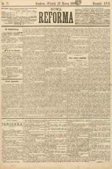 Nowa Reforma. 1898, nr71